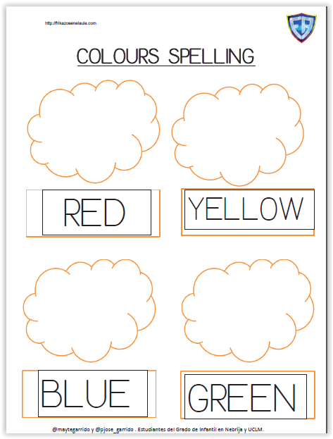 Colours Spelling