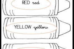Colours pencils Flashcards